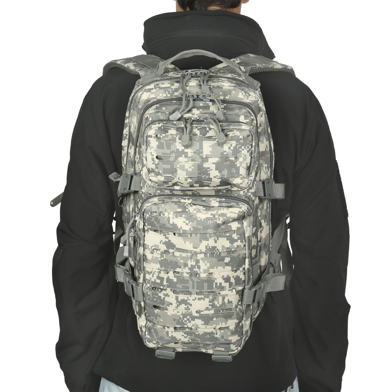 MFH Rucksack US Assault I Laser 30L AT-digital 4