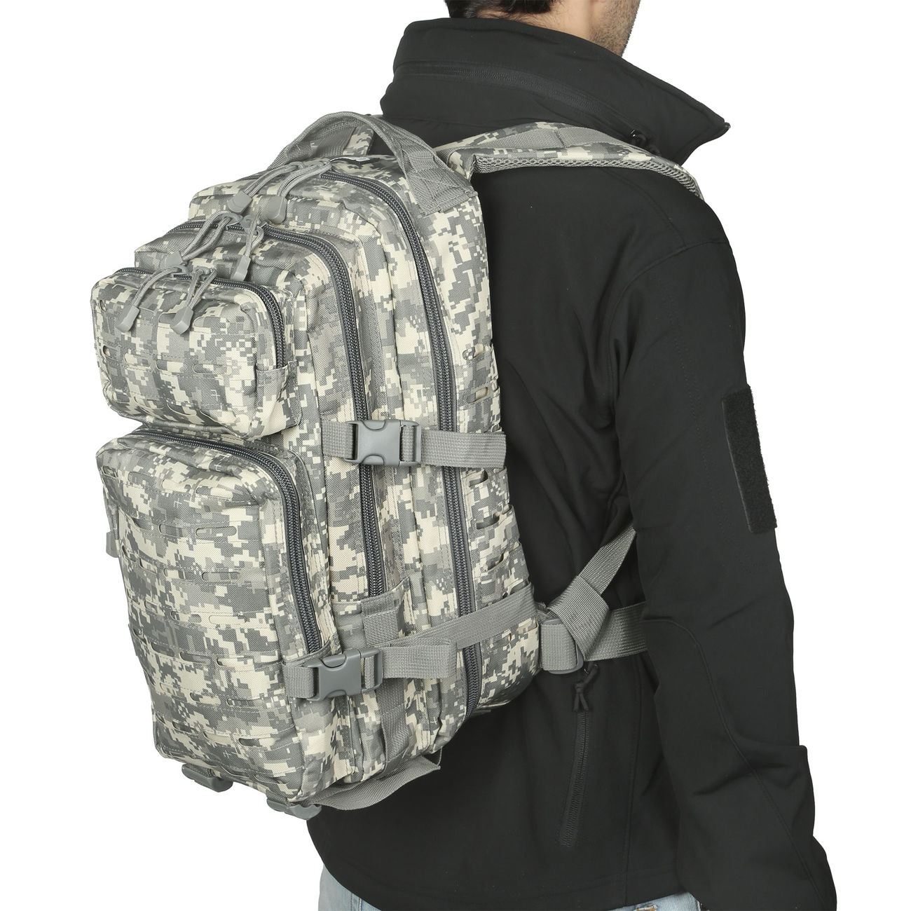 MFH Rucksack US Assault I Laser 30L AT-digital 5