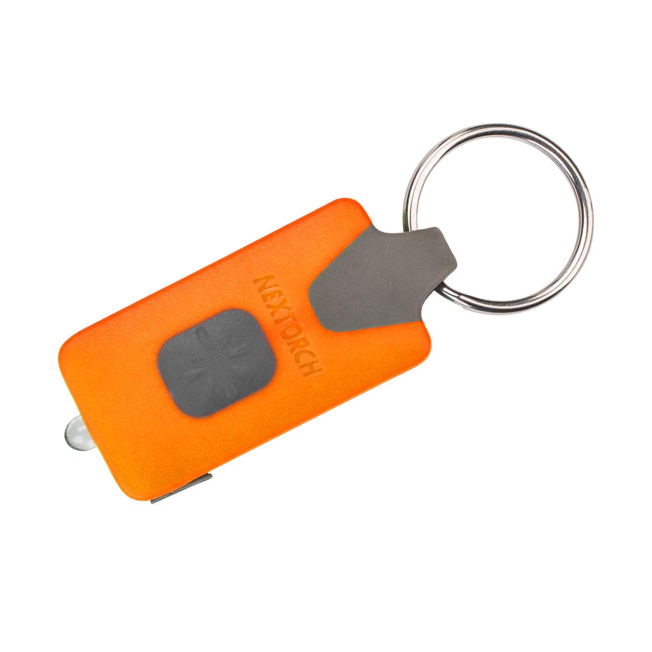 Nextorch LED-Lampe GL10 USB 18 Lumen mit Schlüsselanhänger orange ...