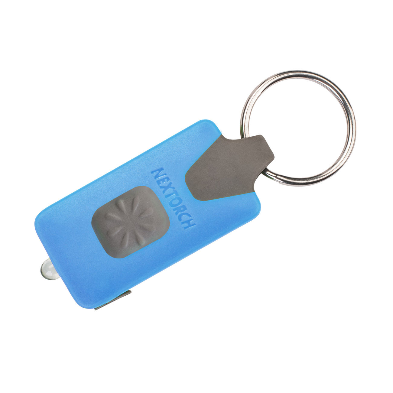 Nextorch LED-Lampe GL10 USB 18 Lumen mit Schlüsselanhänger blau ...