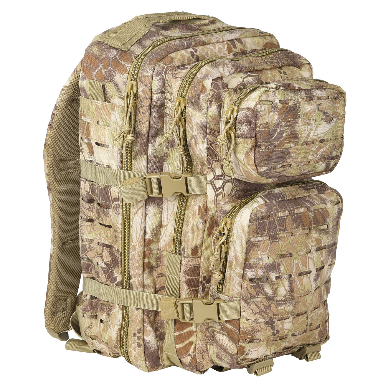Mil-Tec Rucksack US Assault Laser-Cut 36L Mandra Tan 0