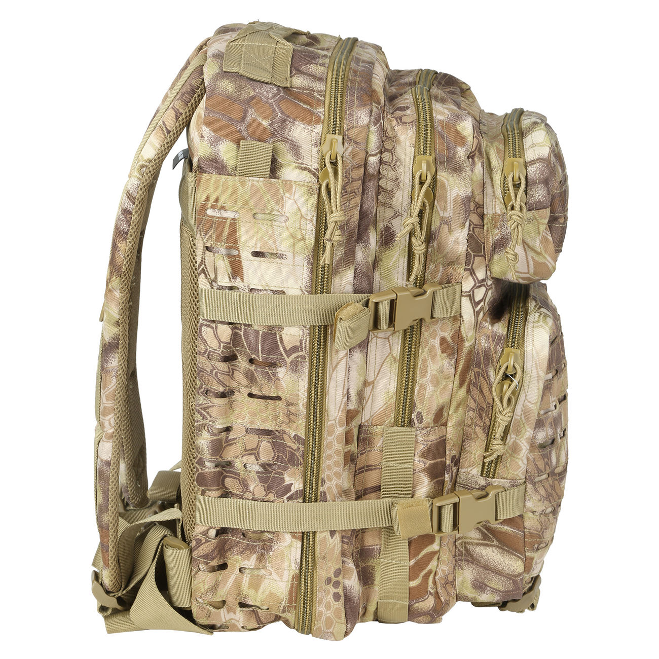Mil-Tec Rucksack US Assault Laser-Cut 36L Mandra Tan 1