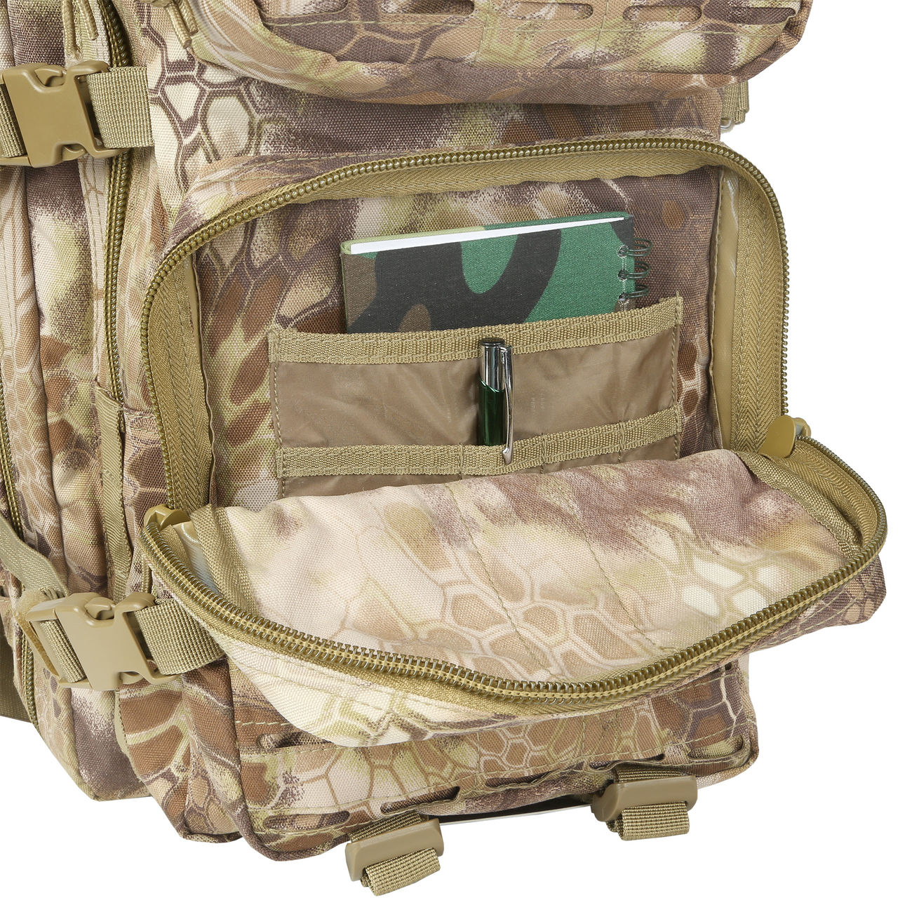Mil-Tec Rucksack US Assault Laser-Cut 36L Mandra Tan 10