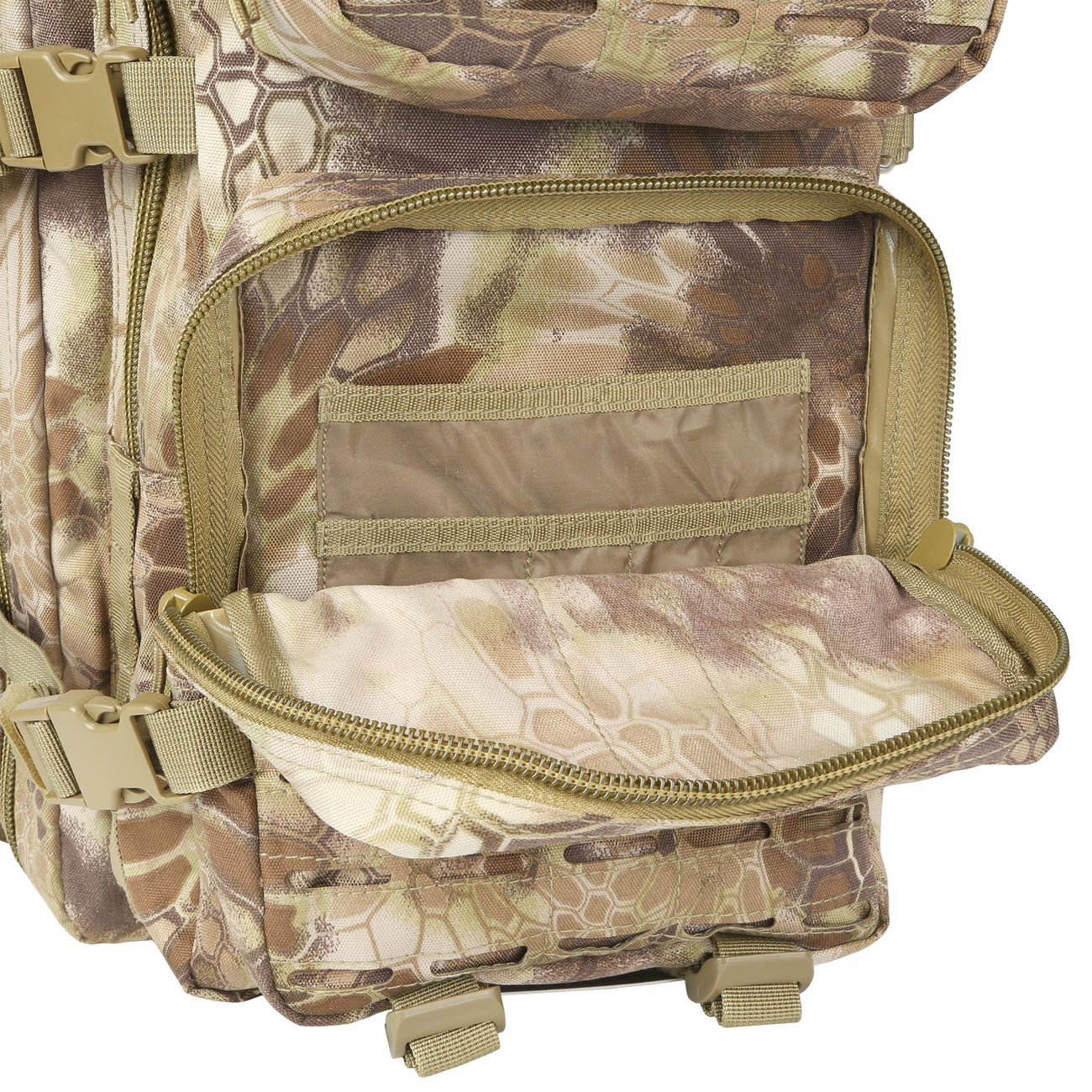 Mil-Tec Rucksack US Assault Laser-Cut 36L Mandra Tan 11