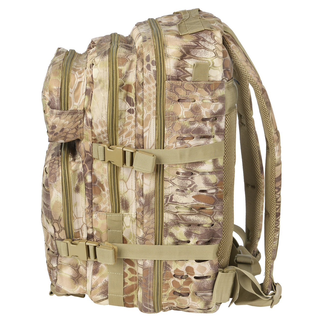 Mil-Tec Rucksack US Assault Laser-Cut 36L Mandra Tan 2