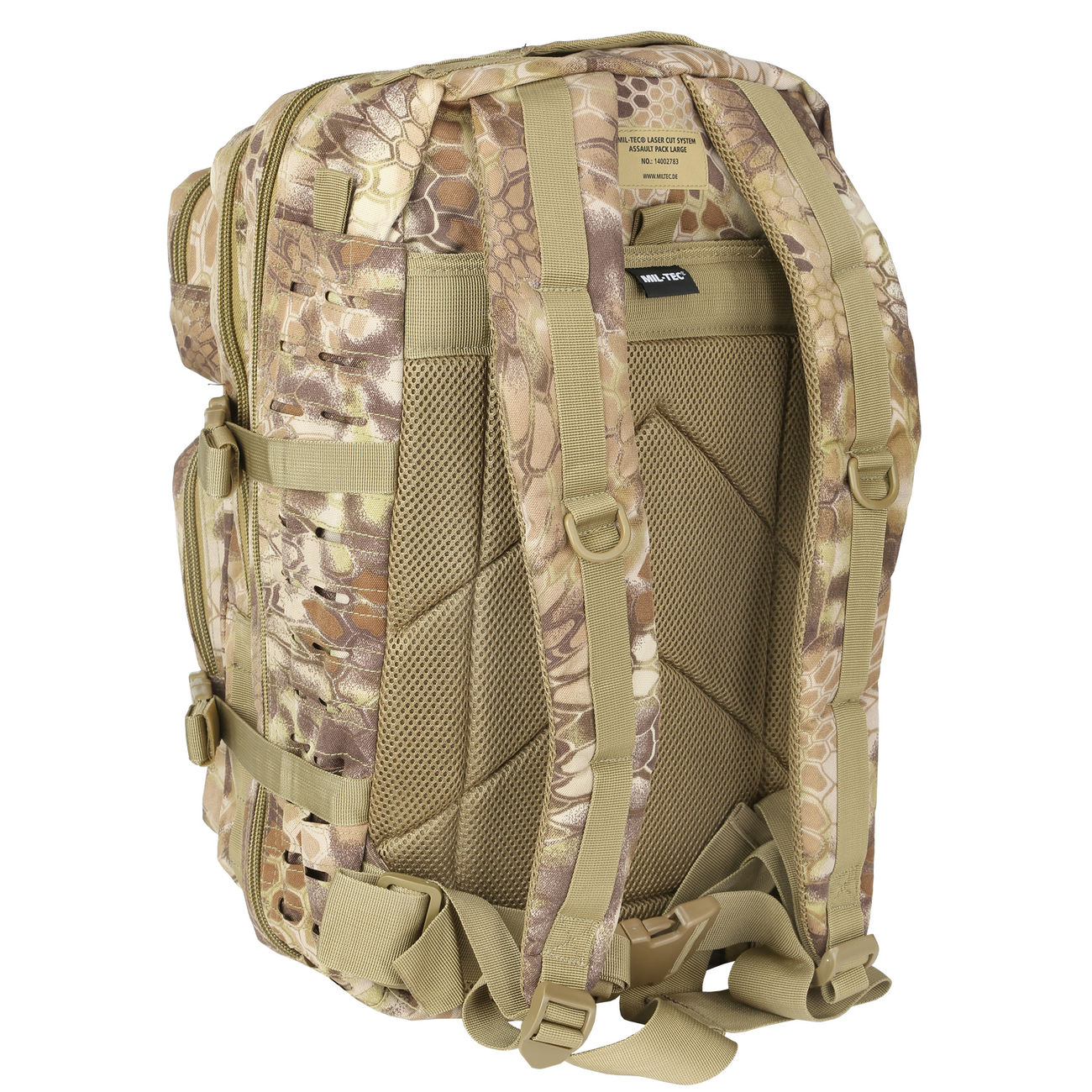 Mil-Tec Rucksack US Assault Laser-Cut 36L Mandra Tan 3