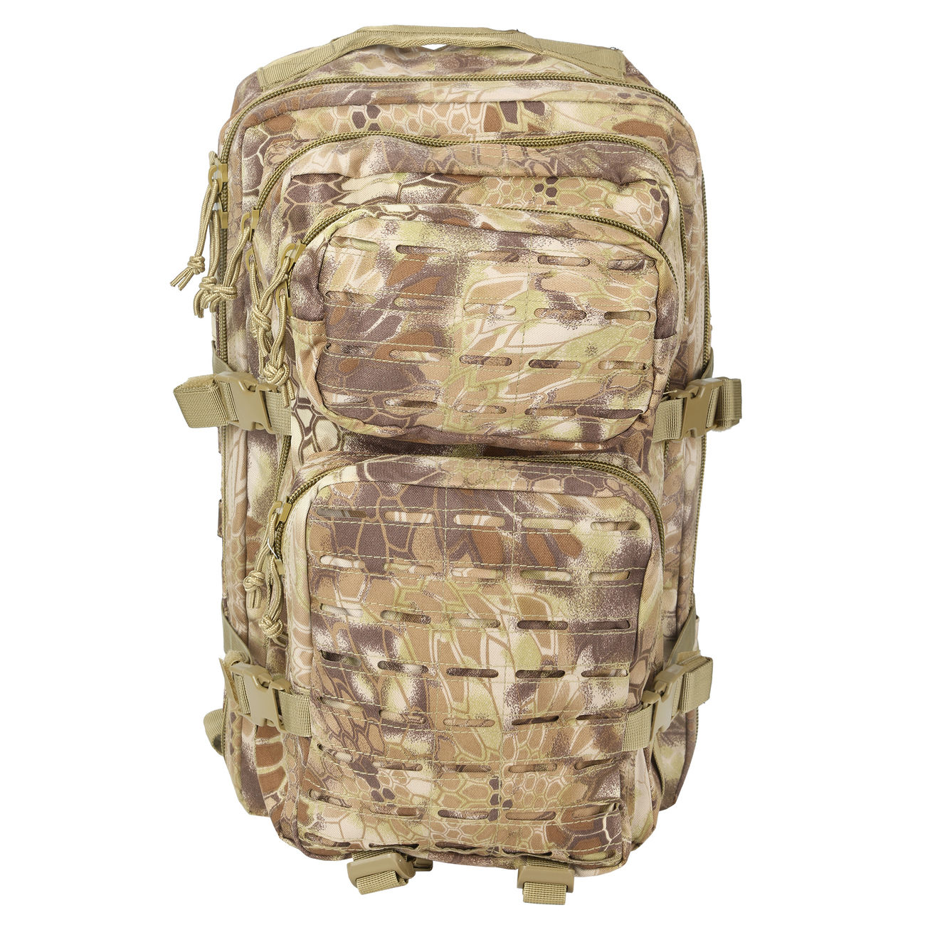 Mil-Tec Rucksack US Assault Laser-Cut 36L Mandra Tan 6