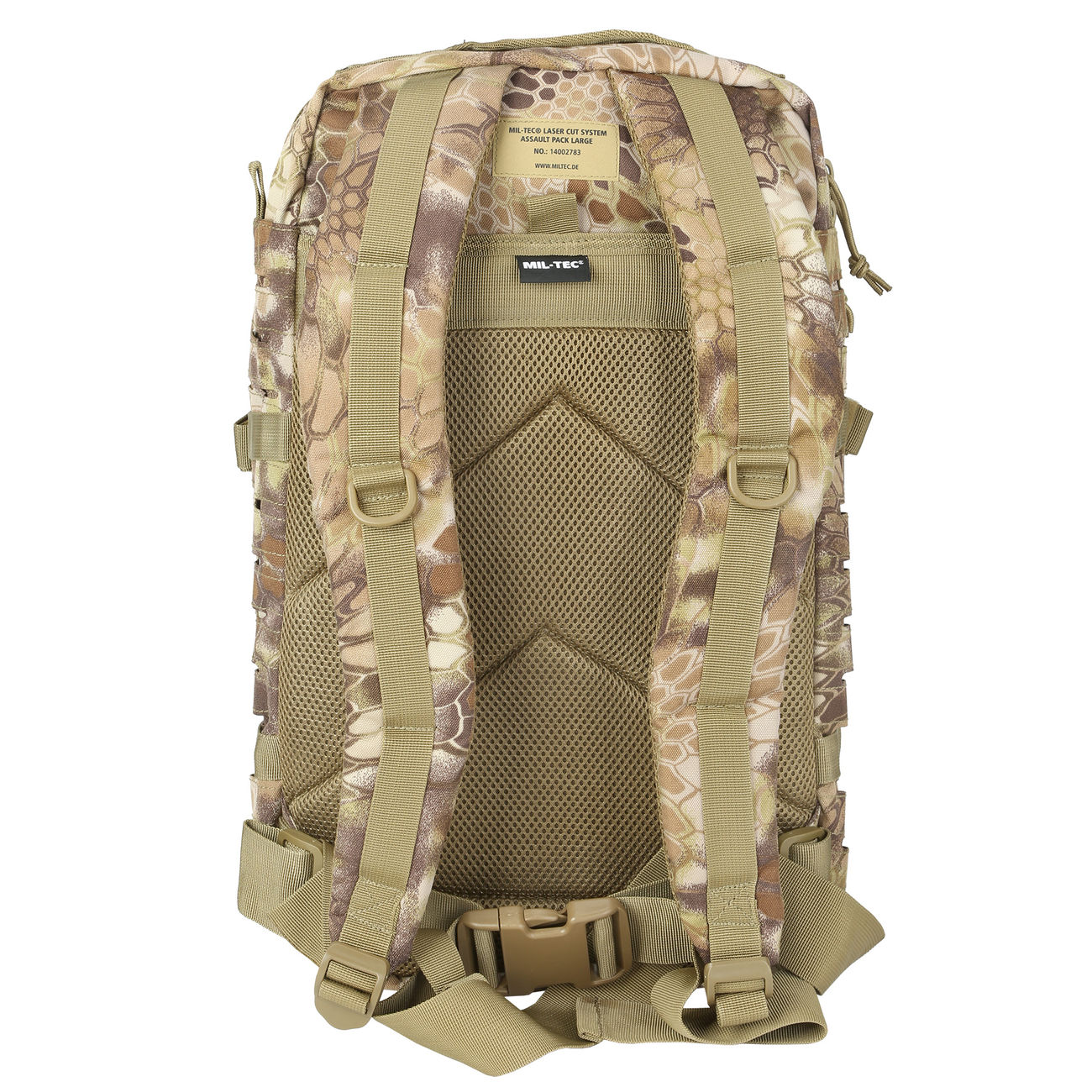 Mil-Tec Rucksack US Assault Laser-Cut 36L Mandra Tan 7