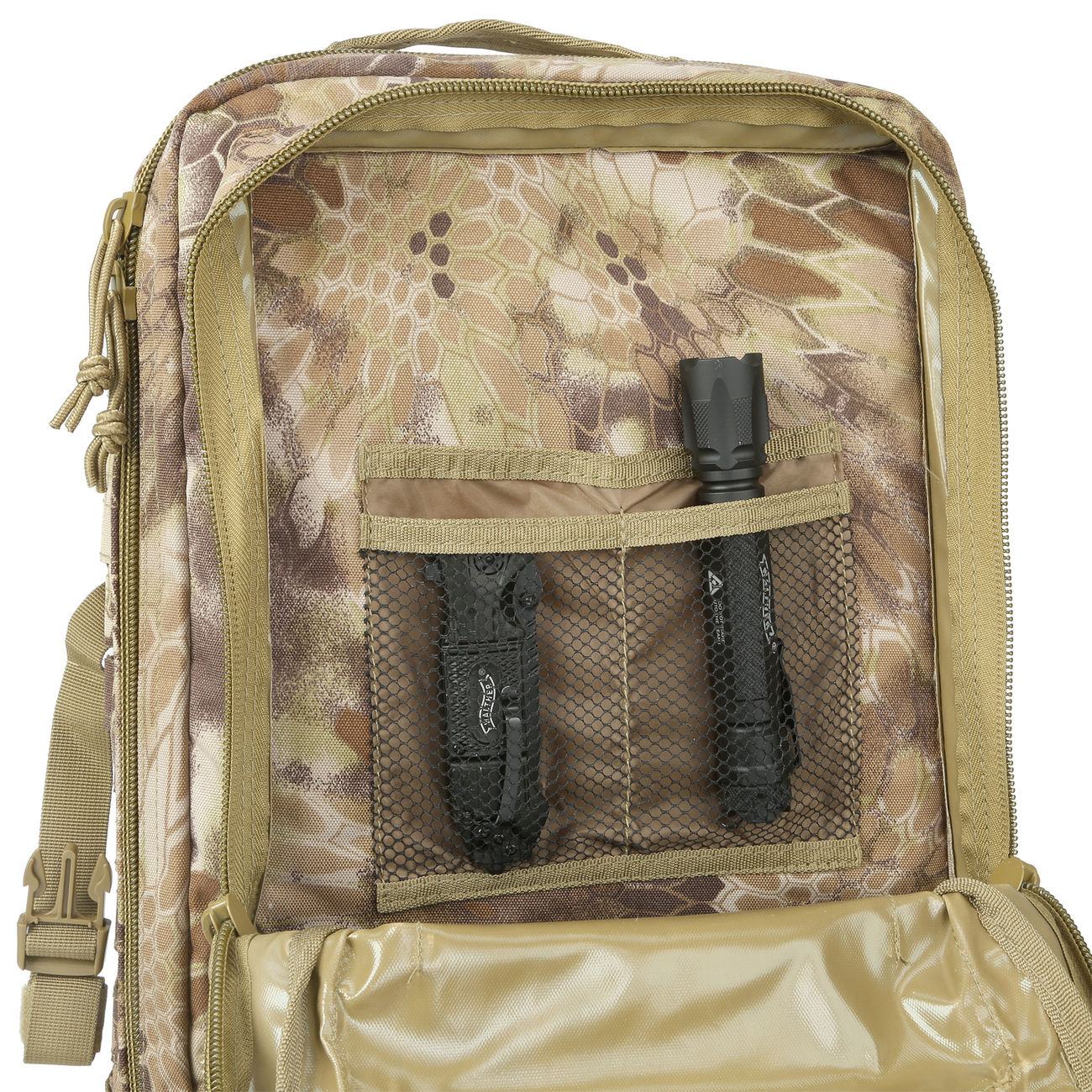 Mil-Tec Rucksack US Assault Laser-Cut 36L Mandra Tan 8