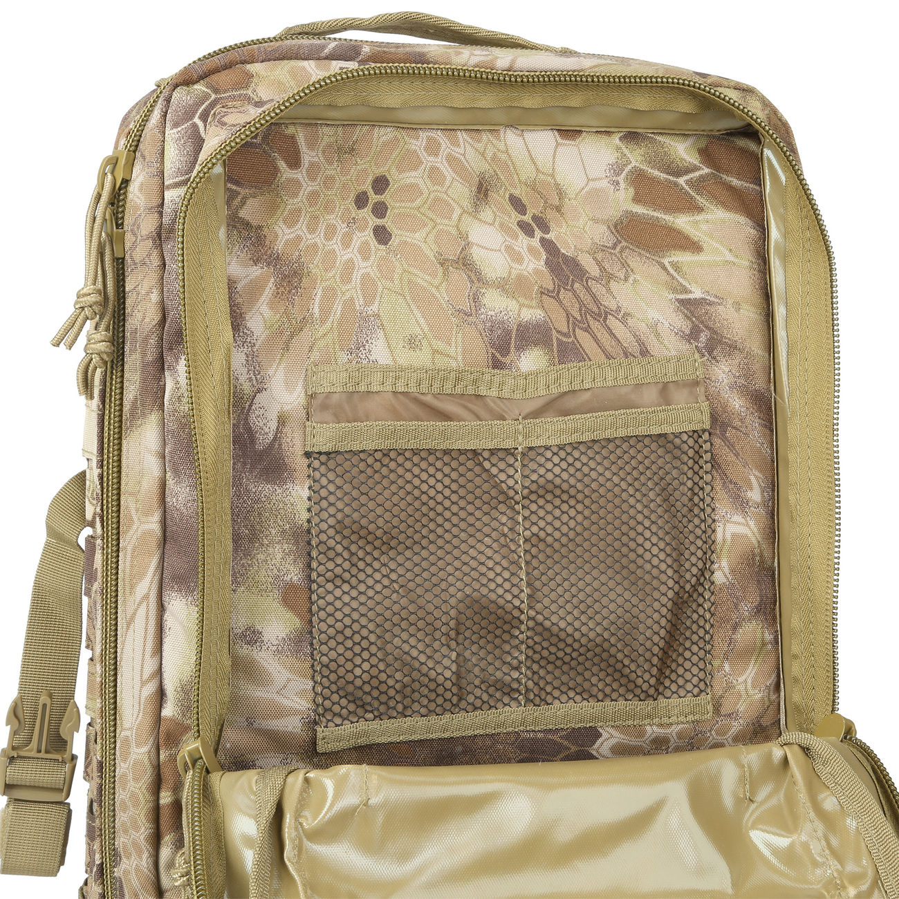 Mil-Tec Rucksack US Assault Laser-Cut 36L Mandra Tan 9