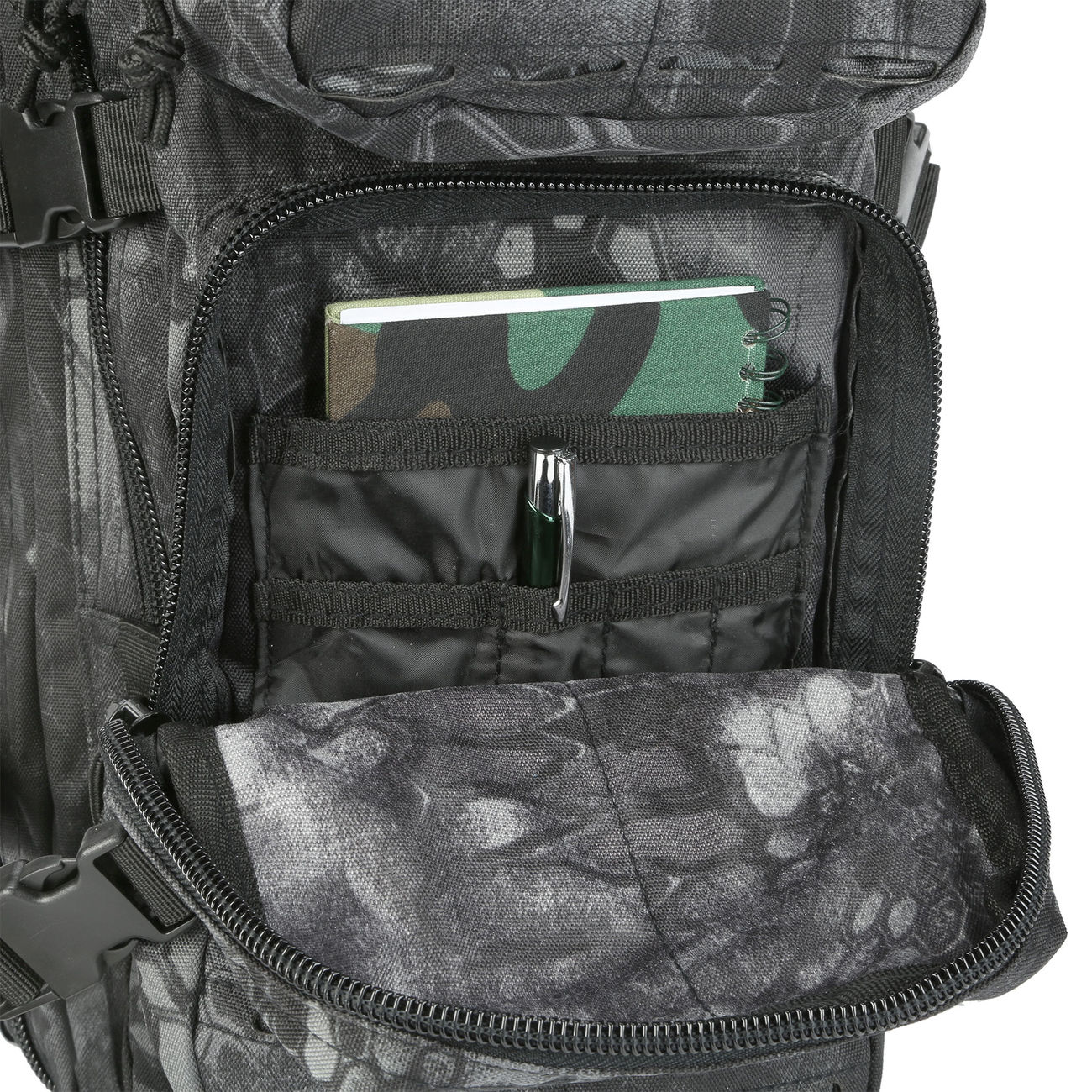 Mil-Tec Rucksack US Assault SM Laser-Cut Mandra Night 20L 10