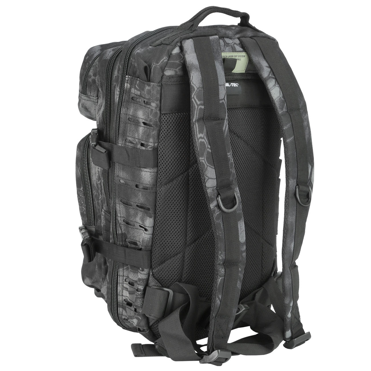 Mil-Tec Rucksack US Assault SM Laser-Cut Mandra Night 20L 3