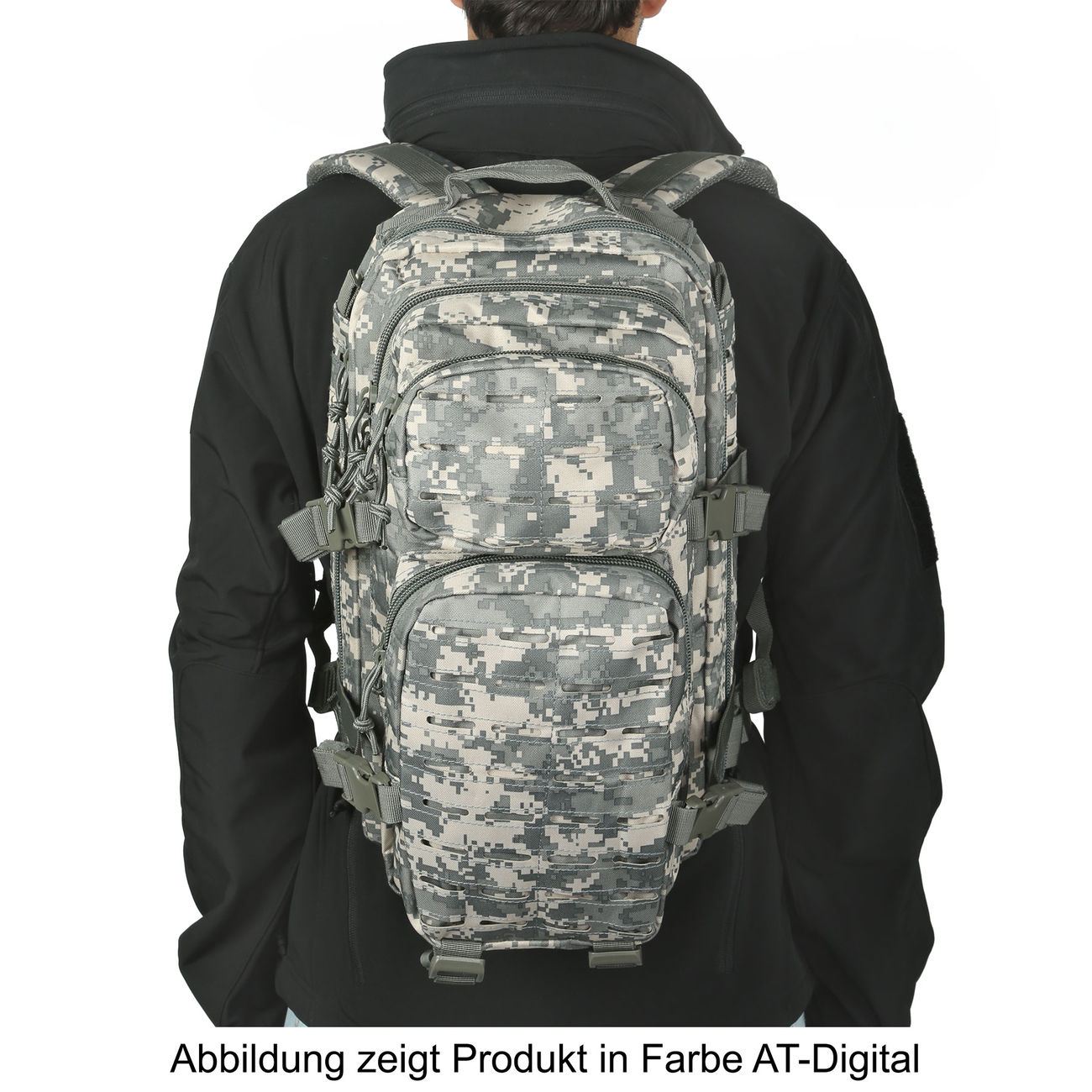Mil-Tec Rucksack US Assault SM Laser-Cut Mandra Night 20L 4