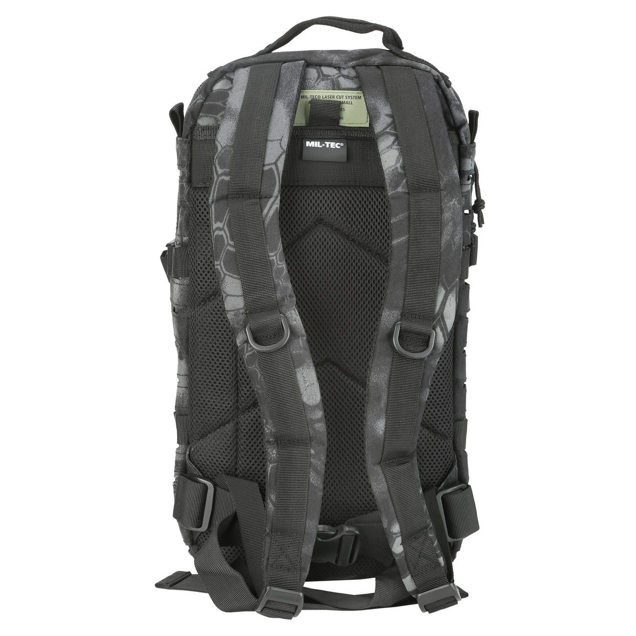 Mil-Tec Rucksack US Assault SM Laser-Cut Mandra Night 20L 7