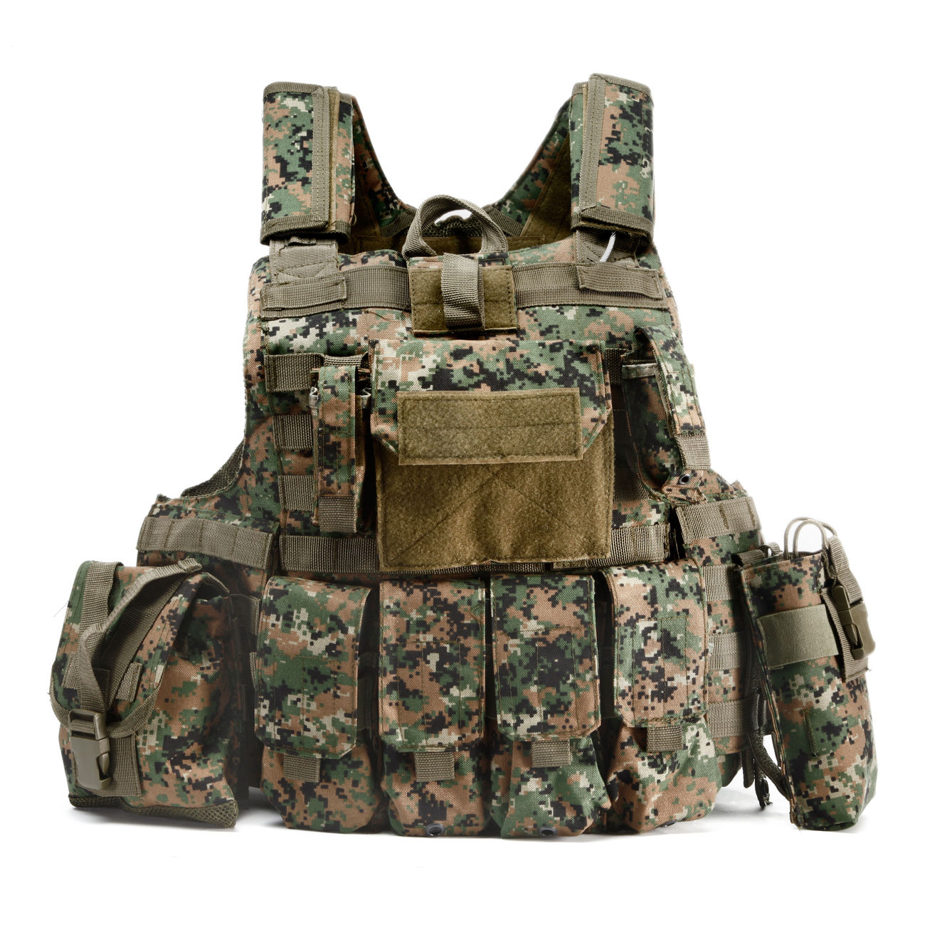 101 INC. Raptor Tactical Vest digital camo 0