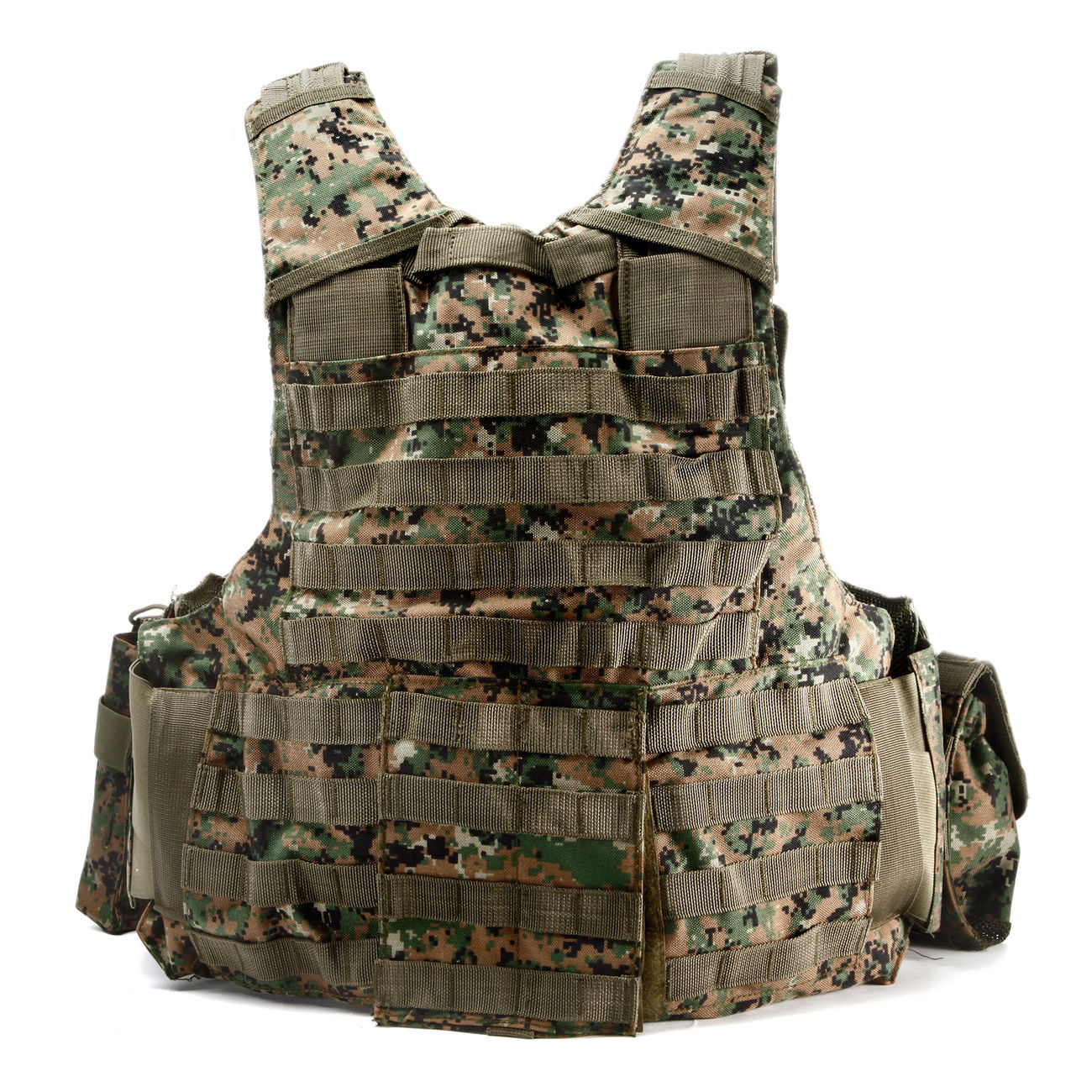 101 INC. Raptor Tactical Vest digital camo 2