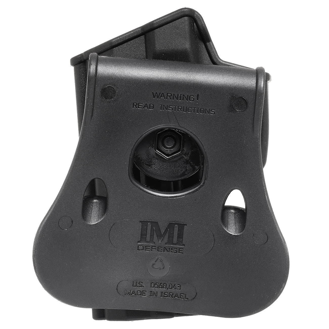 IMI Defense Level 2 Holster Kunststoff Paddle für H&K USP / P8 9mm schwarz 4