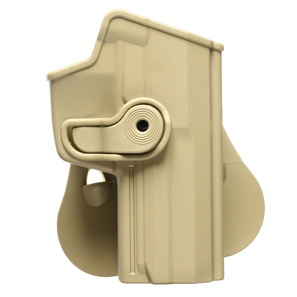 IMI Defense Level 2 Holster Kunststoff Paddle für H&K USP / P8 9mm tan 0