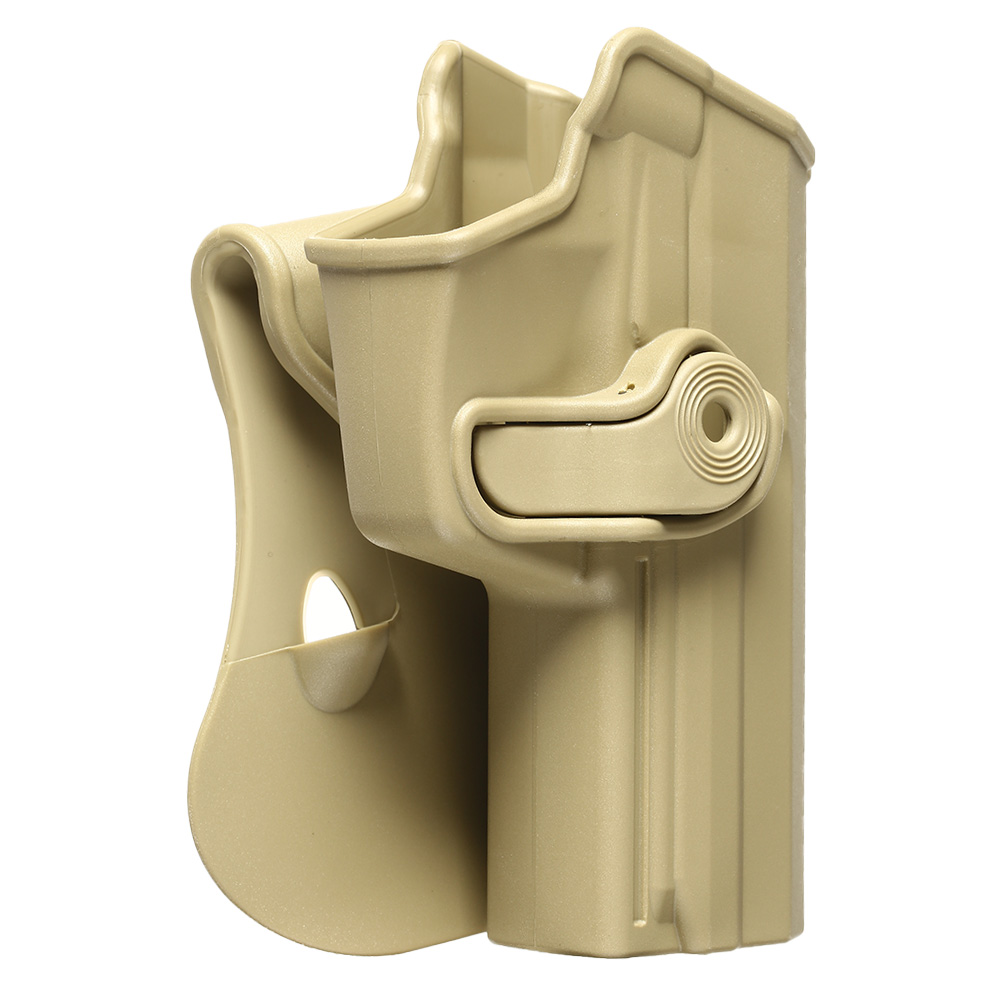 IMI Defense Level 2 Holster Kunststoff Paddle für H&K USP / P8 9mm tan 1