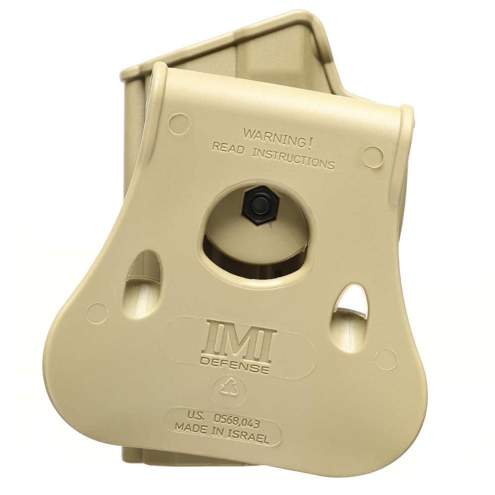 IMI Defense Level 2 Holster Kunststoff Paddle für H&K USP / P8 9mm tan 4