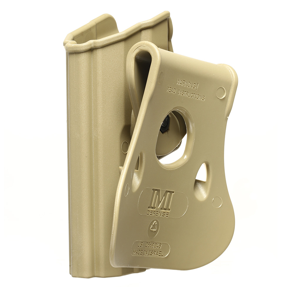IMI Defense Level 2 Holster Kunststoff Paddle für H&K USP / P8 9mm tan 5
