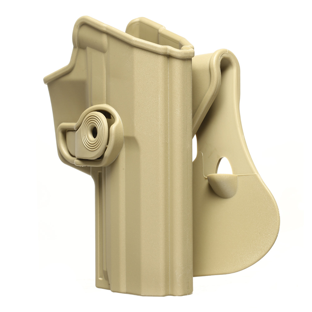 IMI Defense Level 2 Holster Kunststoff Paddle für H&K USP / P8 9mm tan 7