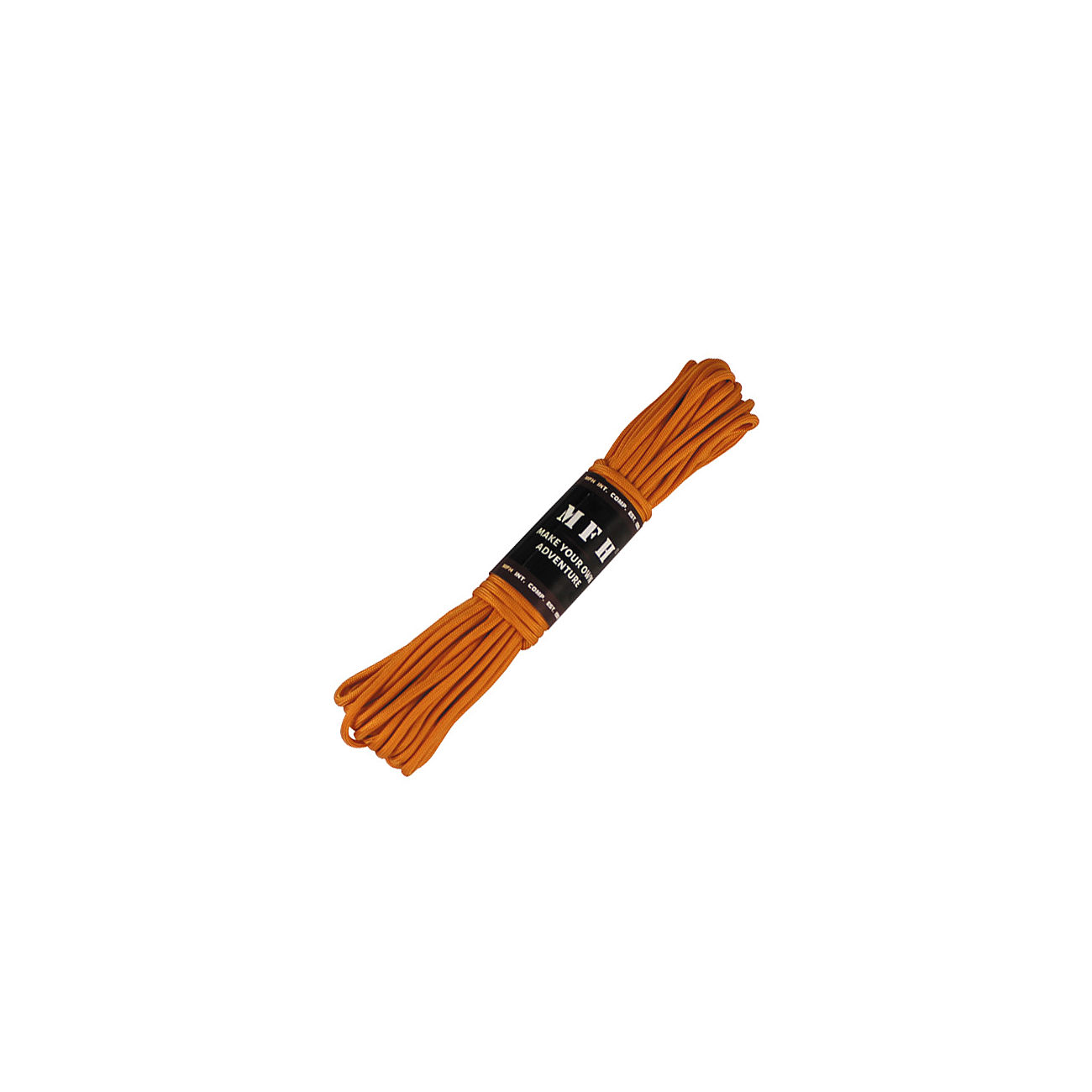 MFH Fallschirmleine 50 FT Nylon orange 0