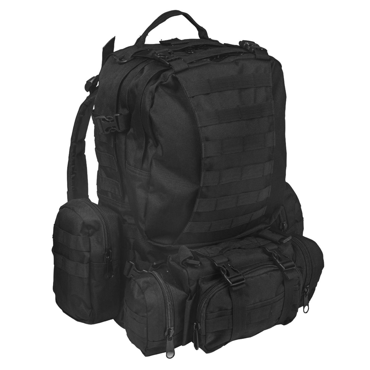 Mil-Tec Rucksack Defense Pack Assembly 36 ltr. schwarz 0
