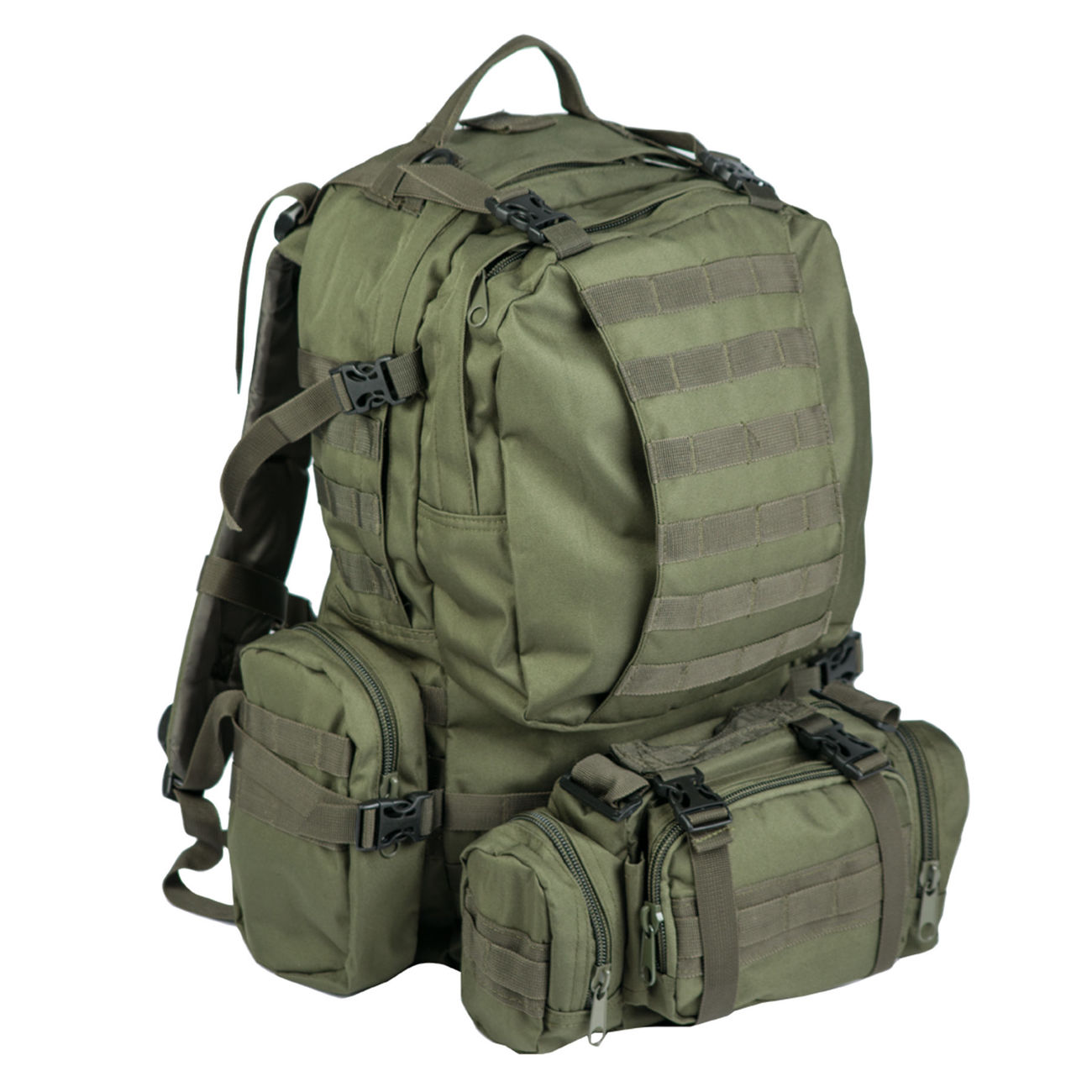 Mil-Tec Rucksack Defense Pack Assembly 36 ltr. olive 0