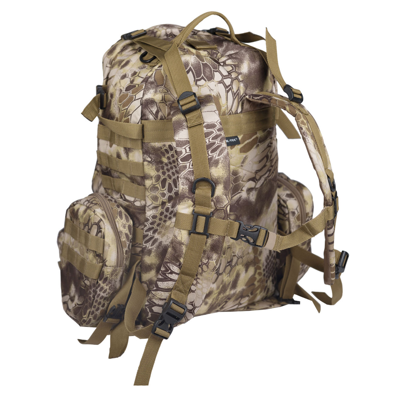 Mil-Tec Rucksack Defense Pack Assembly 36 ltr. mandra tan 1