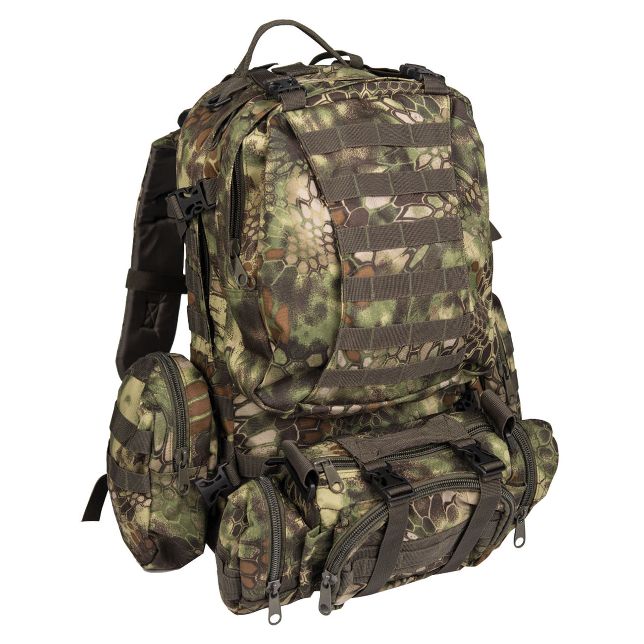 Mil-Tec Rucksack Defense Pack Assembly 36 ltr. mandra wood 0