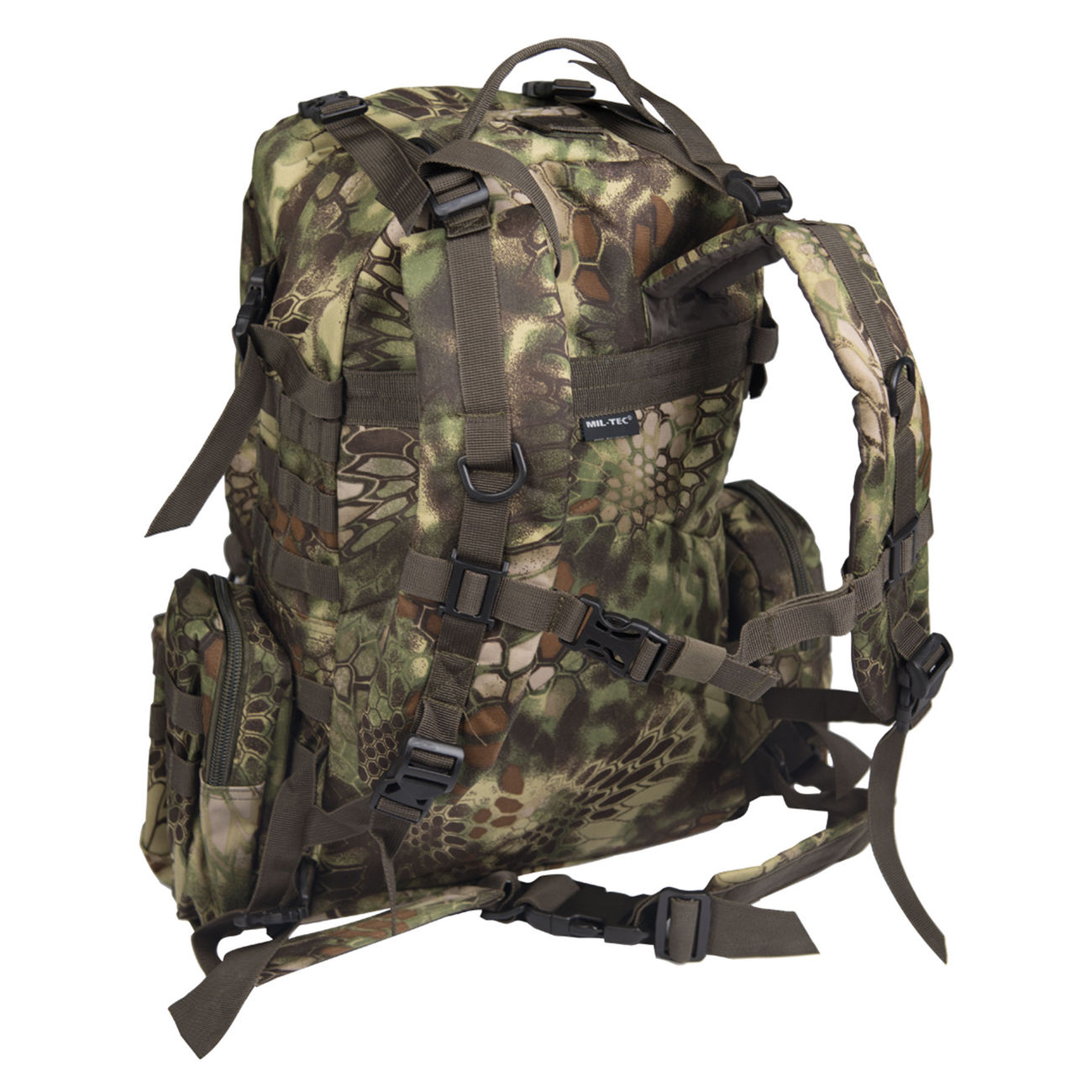 Mil-Tec Rucksack Defense Pack Assembly 36 ltr. mandra wood 1