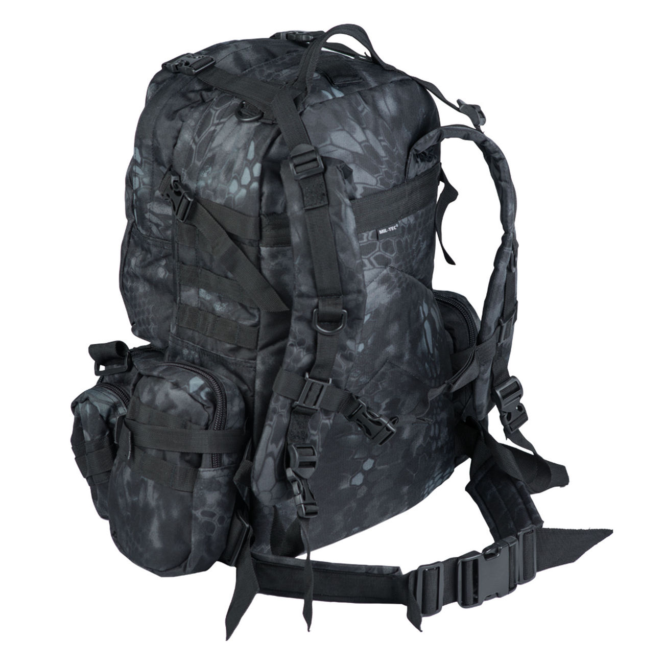Mil-Tec Rucksack Defense Pack Assembly 36 ltr. mandra night 1