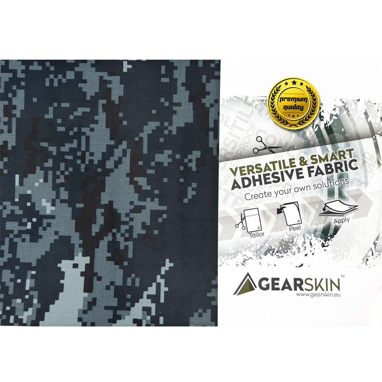 Gearskin Tarnfolie Gr. Regular Digital Navy 4