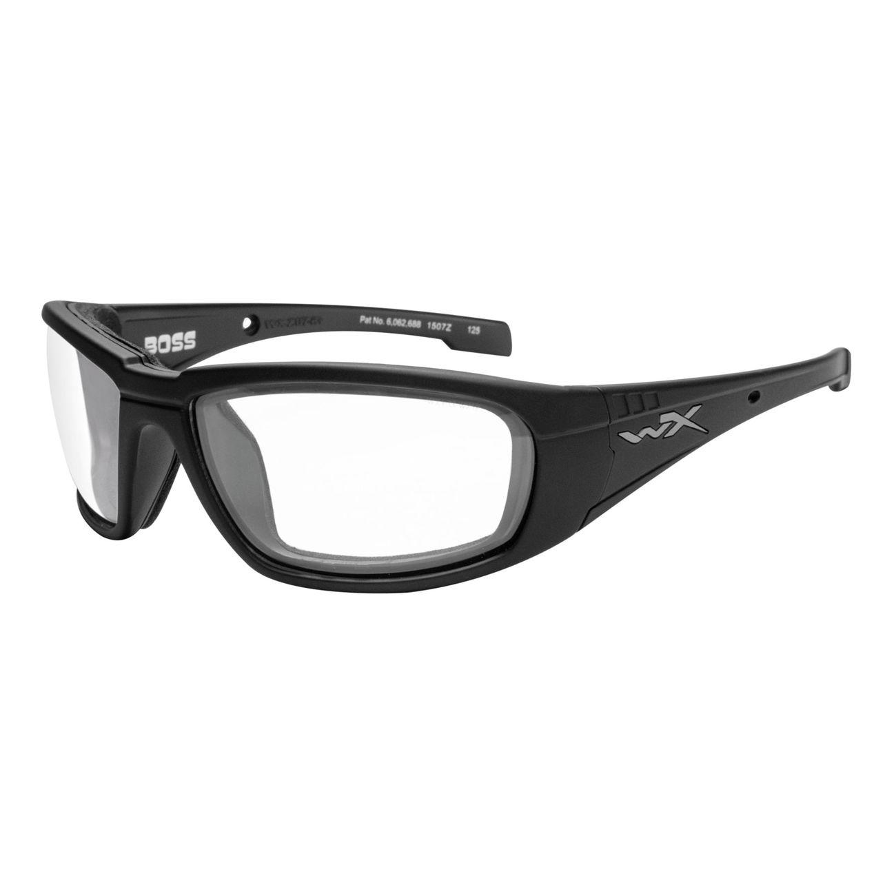 Wiley X Brille Boss matt schwarz klar günstig kaufen - Kotte & Zeller