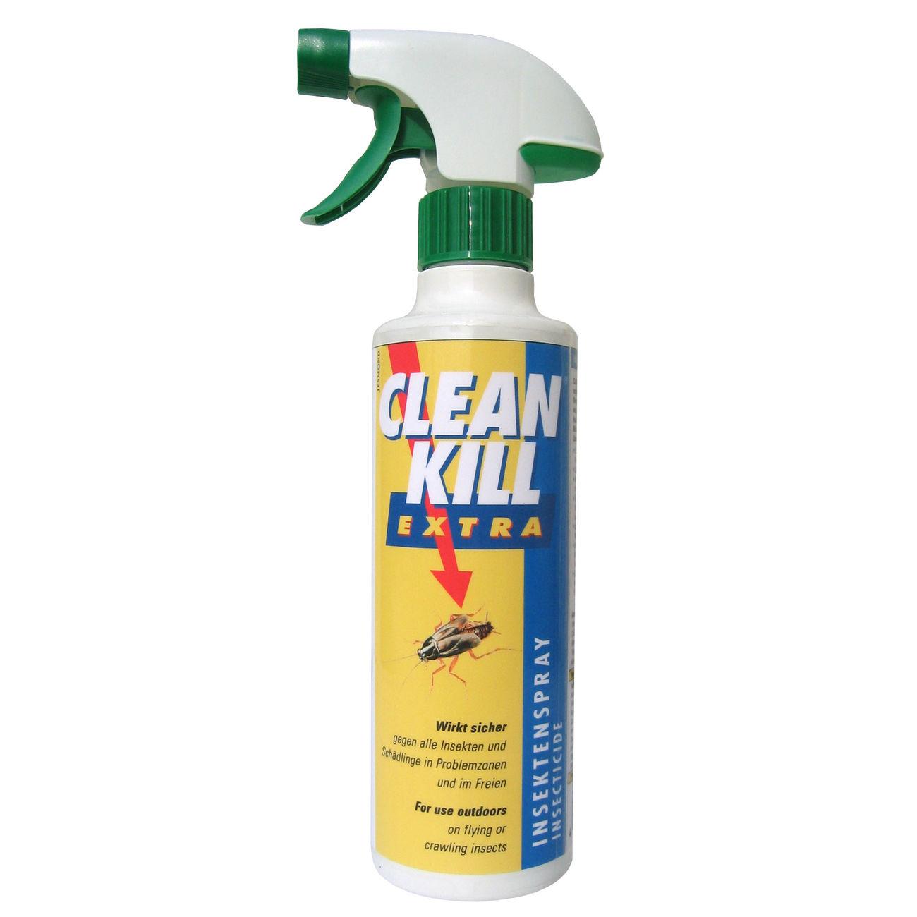clean kill extra insektenspray 375 ml g nstig kaufen kotte zeller. Black Bedroom Furniture Sets. Home Design Ideas