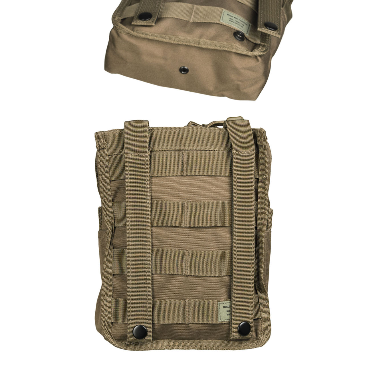 Mil-Tec Molle Belt Pouch LG Dark Coyote 1