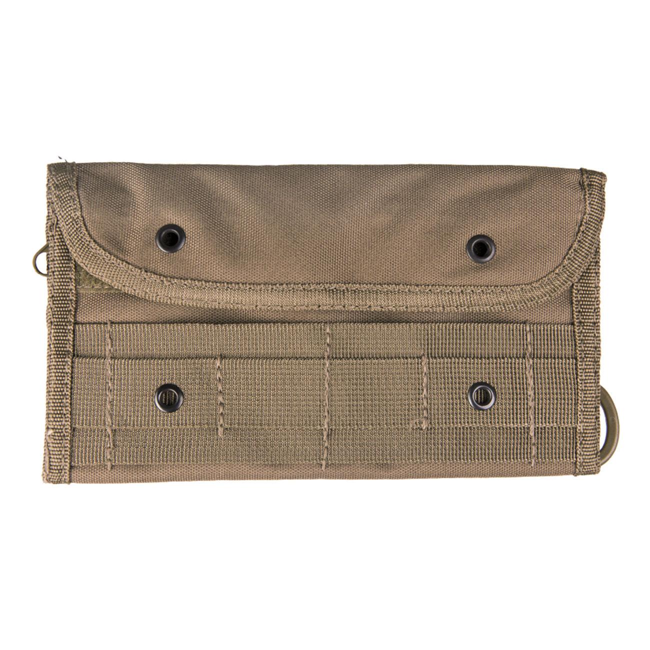 595ee2ab22aa4 Mil-Tec Brieftasche Wallet Pouch Molle Dark Coyote günstig kaufen ...