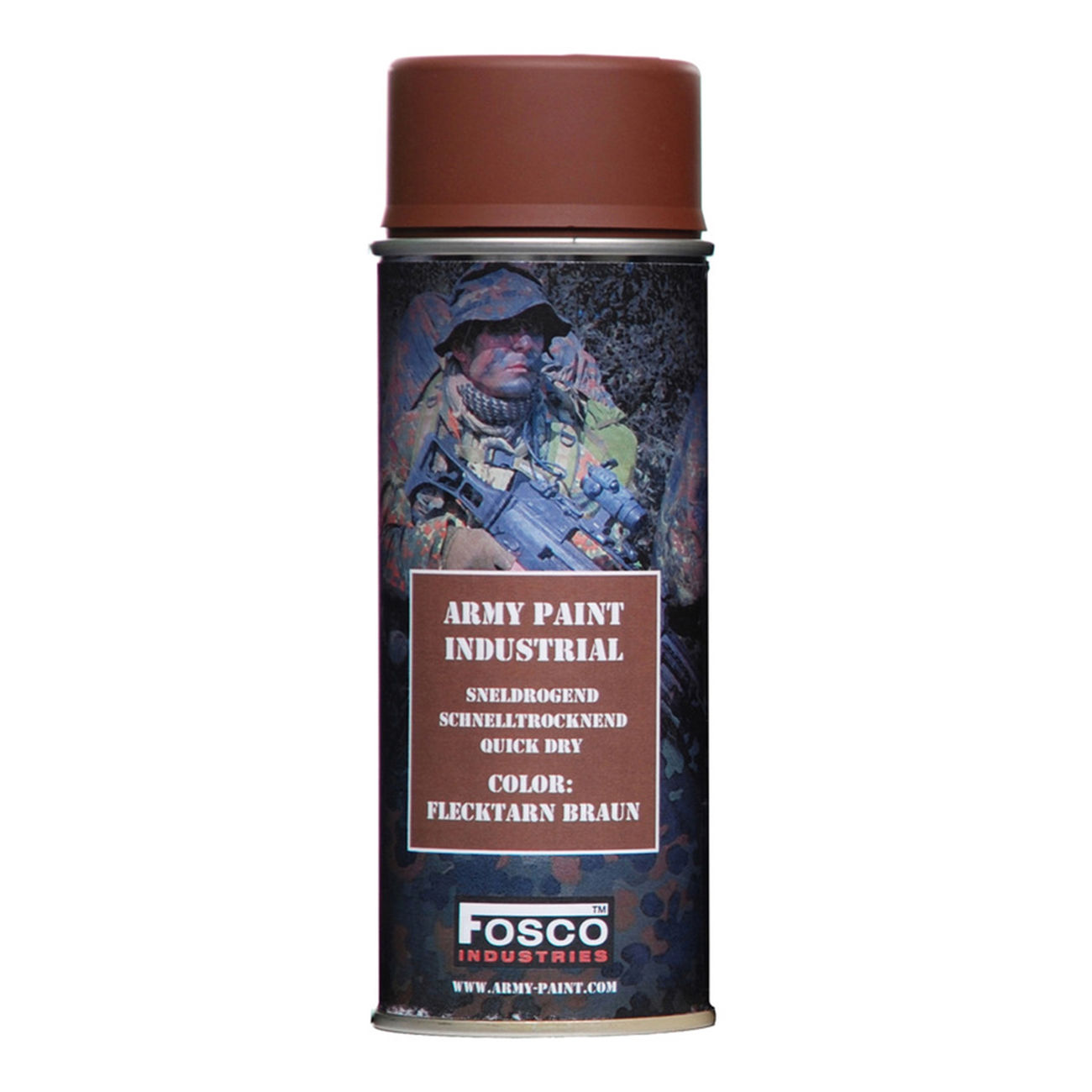 Fosco Army Paint Sprühfarbe flecktarn braun 400ml 0