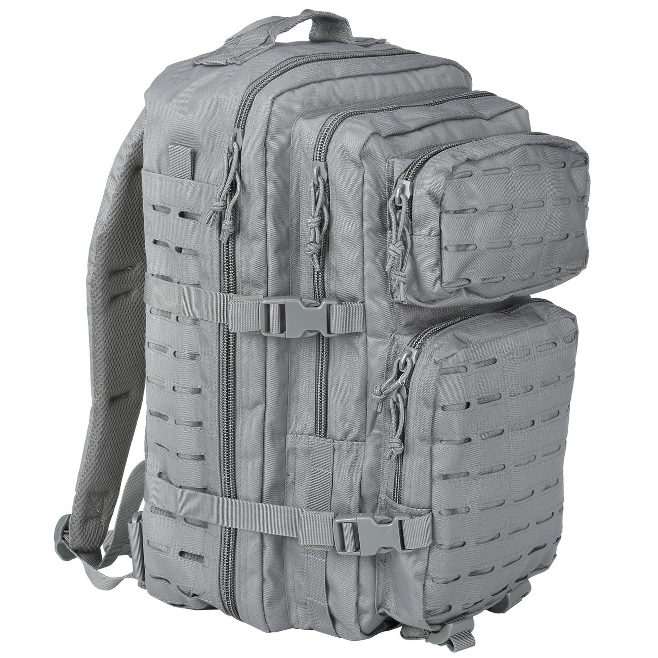 Mil-Tec Rucksack US Assault Pack Laser Cut large 36L Urban grey 0