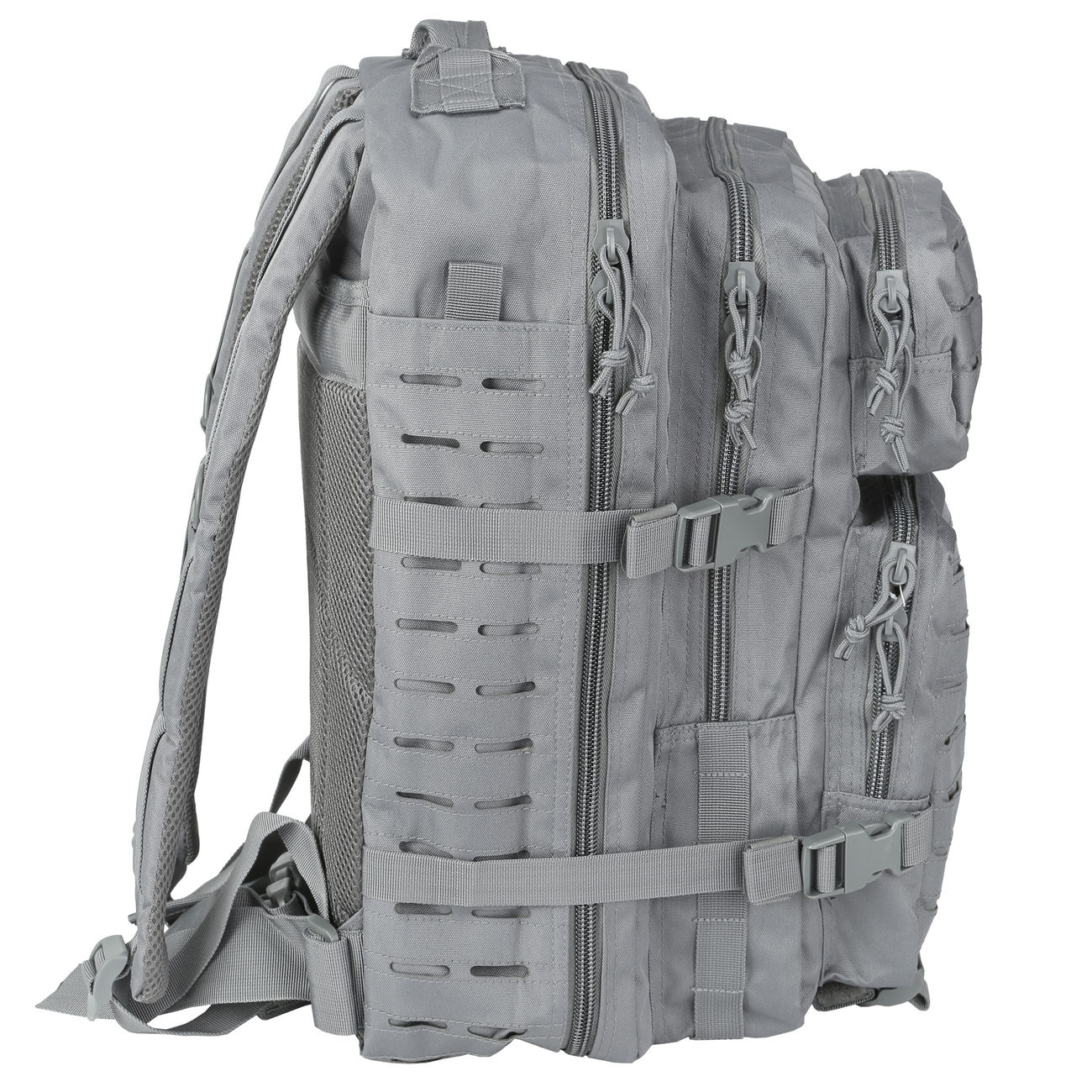 Mil-Tec Rucksack US Assault Pack Laser Cut large 36L Urban grey 1