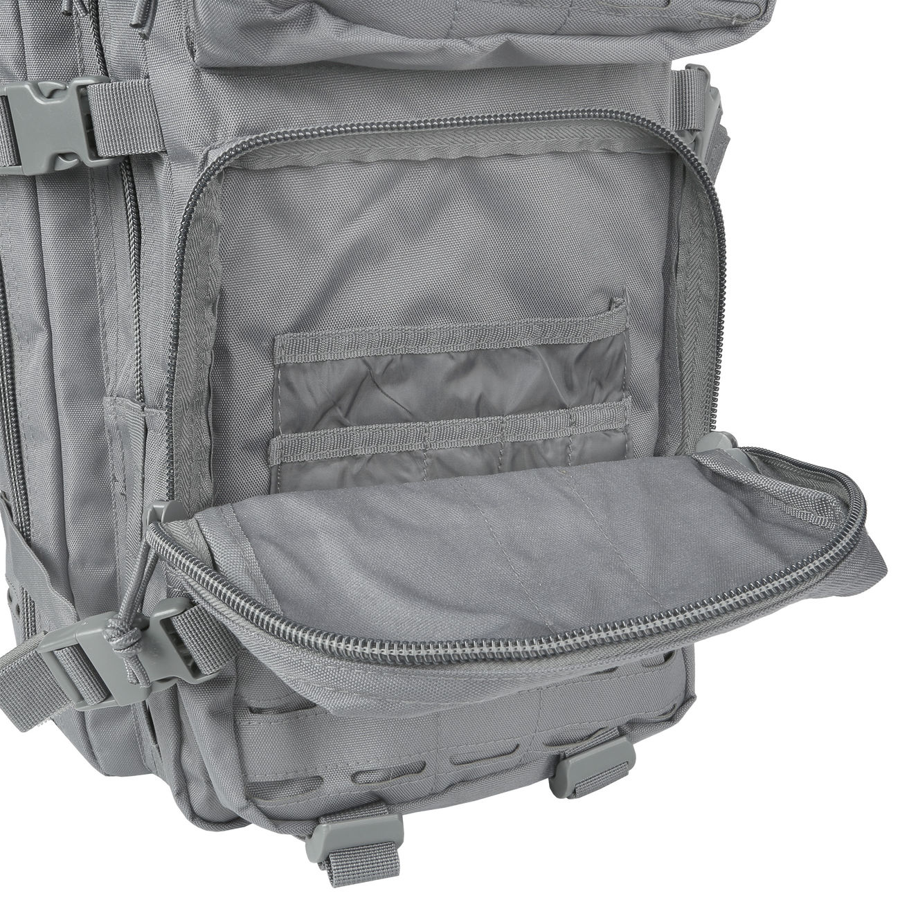 Mil-Tec Rucksack US Assault Pack Laser Cut large 36L Urban grey 11