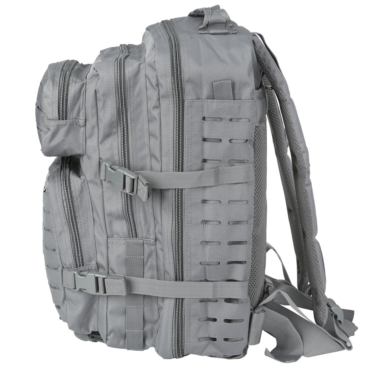 Mil-Tec Rucksack US Assault Pack Laser Cut large 36L Urban grey 2