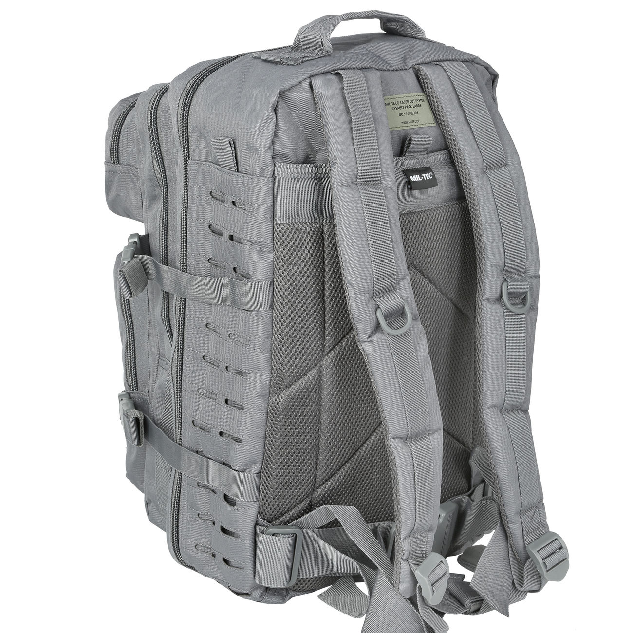 Mil-Tec Rucksack US Assault Pack Laser Cut large 36L Urban grey 3