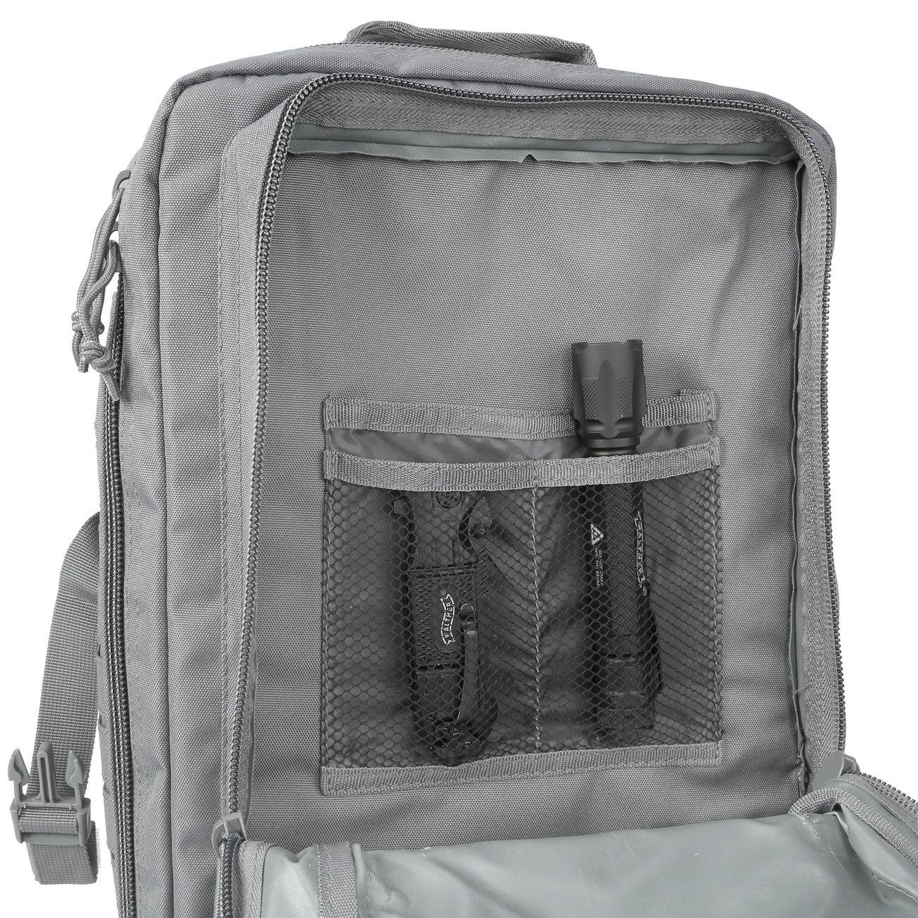 Mil-Tec Rucksack US Assault Pack Laser Cut large 36L Urban grey 8