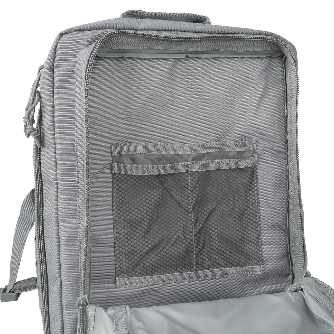 Mil-Tec Rucksack US Assault Pack Laser Cut large 36L Urban grey 9