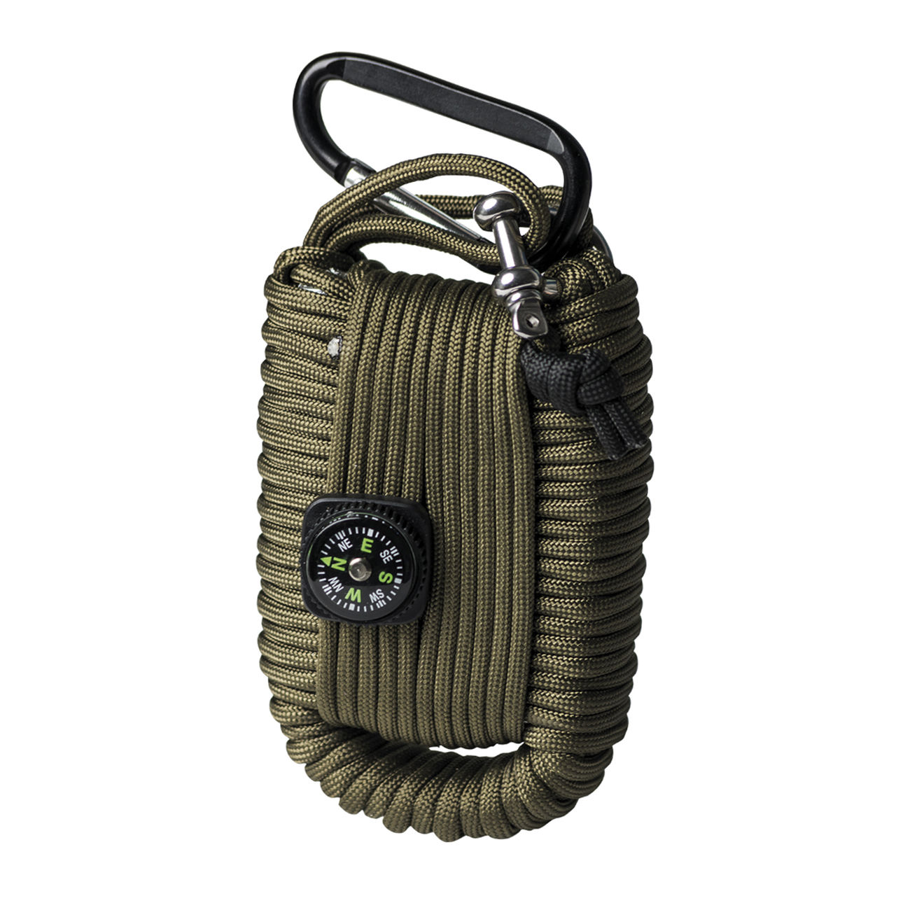 Mil-Tec Paracord Survival Kit large oliv 2