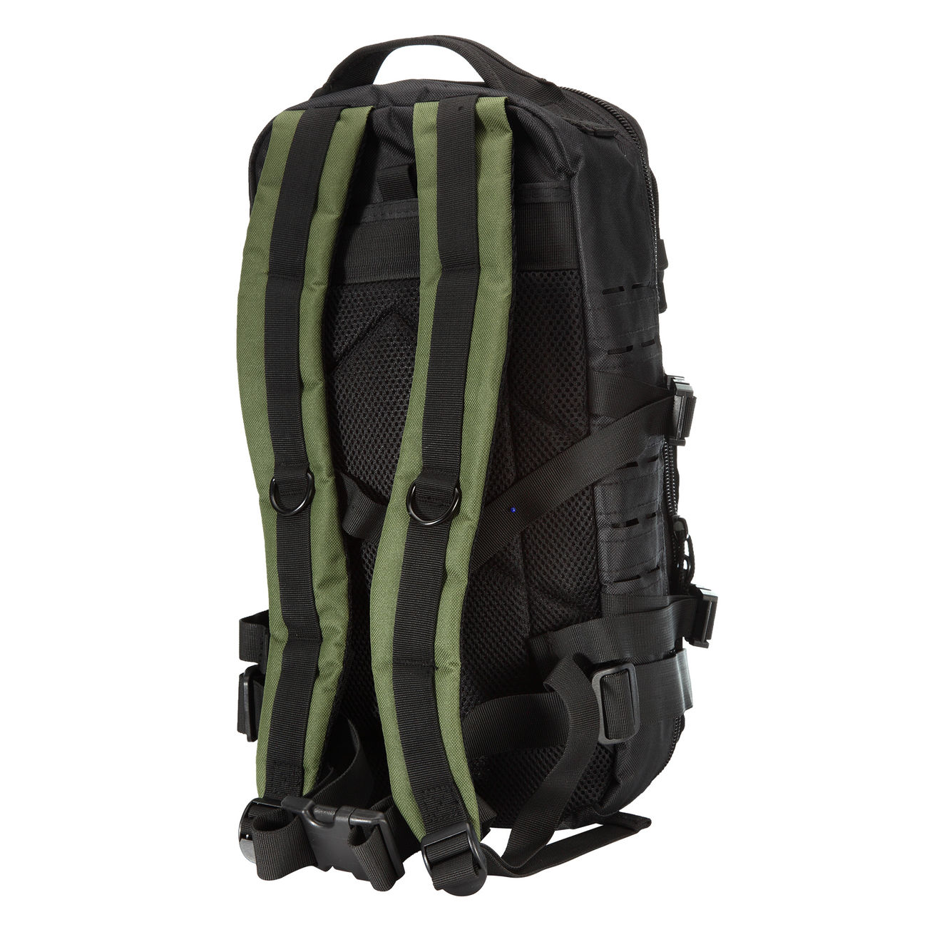 Fox Outdoor Rucksack Assault Travel Laser 20L schwarz/oliv 2