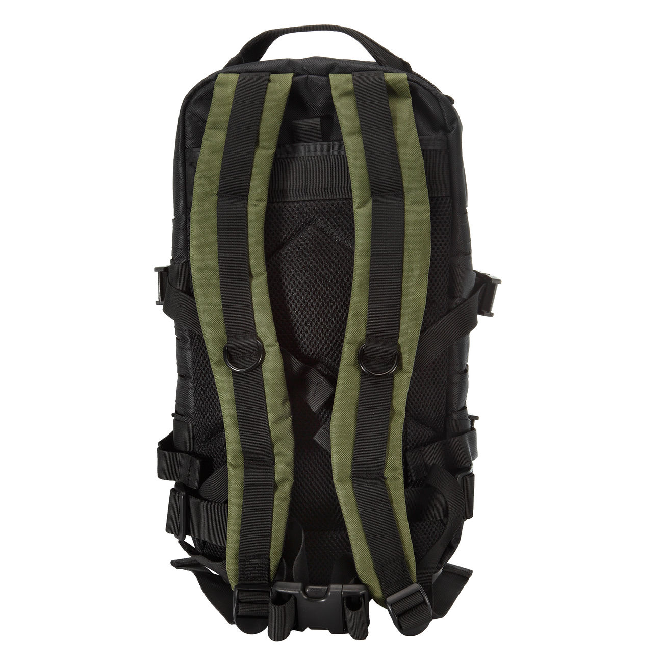 Fox Outdoor Rucksack Assault Travel Laser 20L schwarz/oliv 3