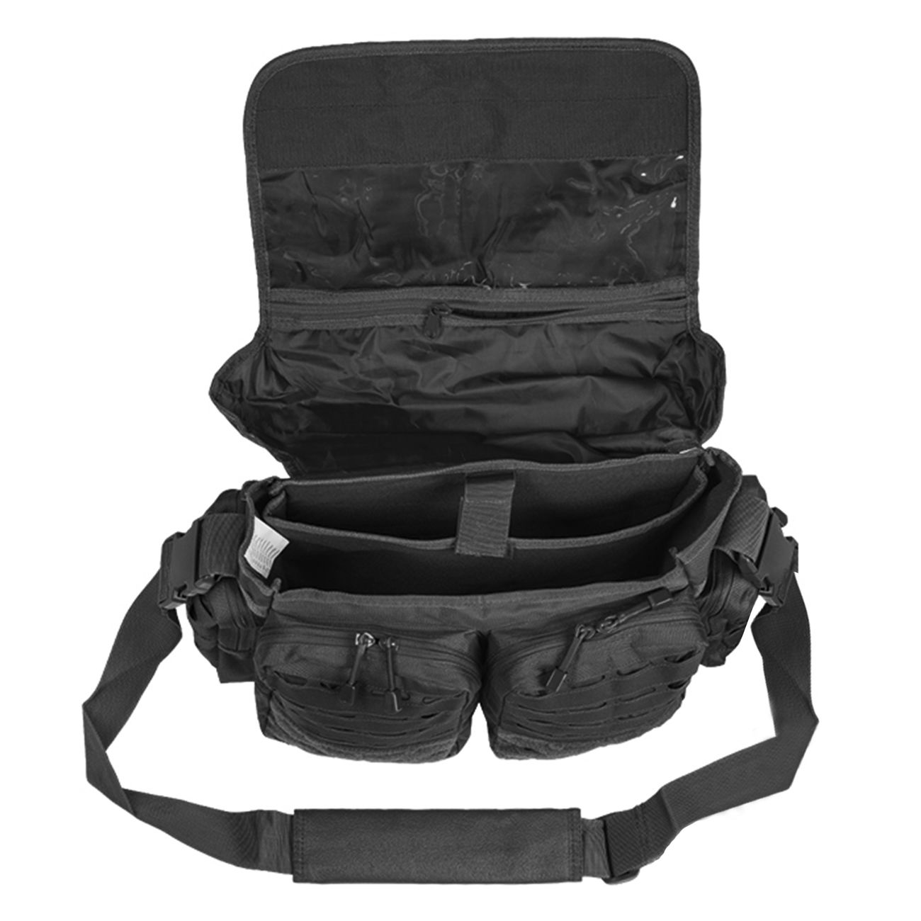 Mil-Tec Tactical Paracord Bag Large schwarz 1